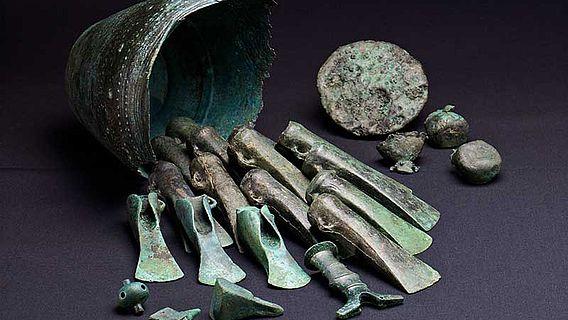 Bronzezeitlicher Hortfund von Ochtendung