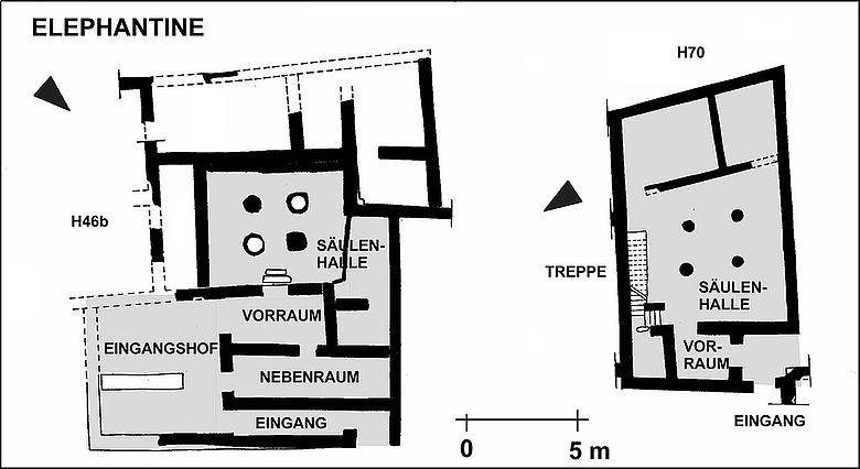 Wohngebäude des Mittleren Reiches und der 1. Zwischenzeit