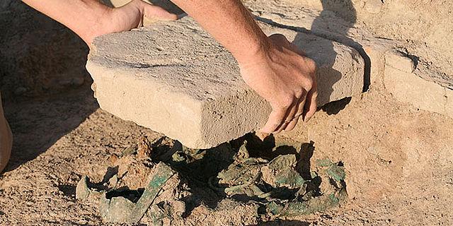 Späteisenzeitlicher Bronze-Hortfund