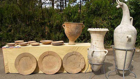 Keramikfunde aus Hattuscha