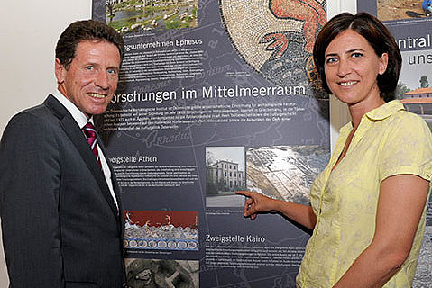 Dr. Karlheinz Töchterle und Dr. Sabine Ladstätter