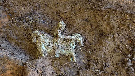 Keltisches Reiterfigürchen