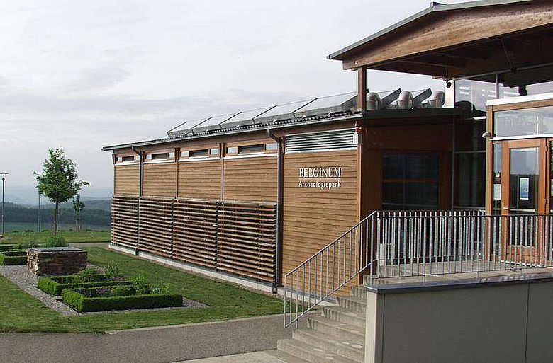 Der Archäologiepark Belginum (Foto: Uni Trier)