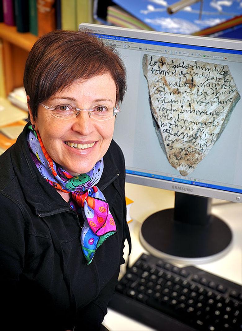 Die Jenaer Indogermanistin Dr. Sabine Ziegler