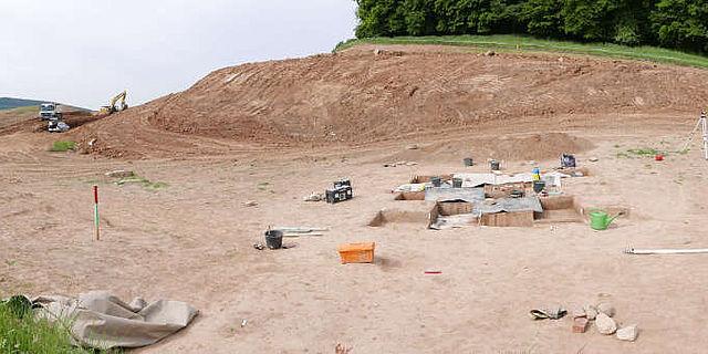 Ausgrabung eines prähistorischen Rastplatzes