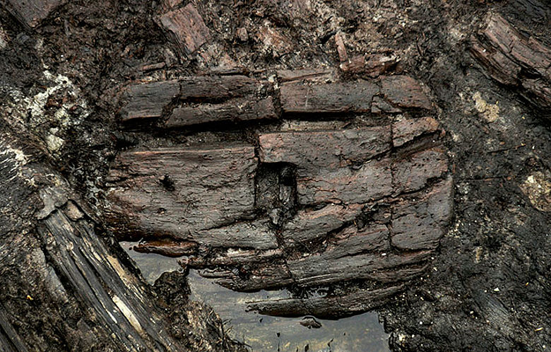 Neolithisches Vollscheibenrad