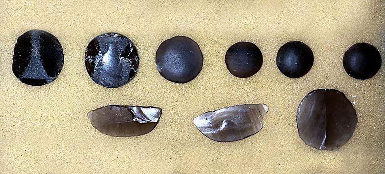Obsidianwerkstücke aus Xalasco bestehen aus einem Material, das in der Nähe der Fundstelle gefördert wurde