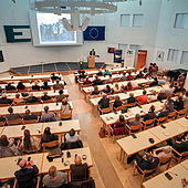 Vortragssaal (Foto: EAO, Valerie Braun/Alexander Elsässer)