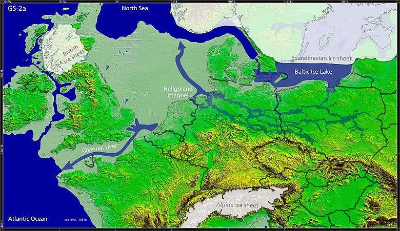 Europa vor rund 16.000 Jahren