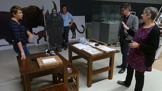 Angeregte fachliche Diskussionen drehten sich in Pori um den Neandertaler