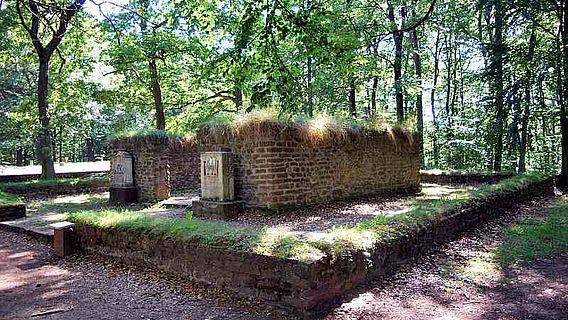 Der gallo-römische Umgangstempel bei Nöthen (Foto: D. Herdemerten, CC-by-sa 3.0/de)