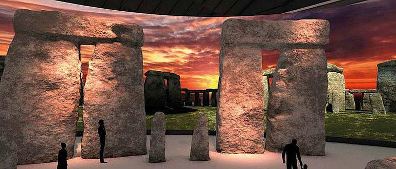 3D-Visualisierung von Stonehenge