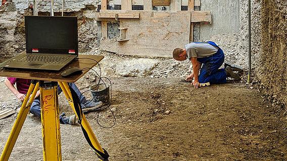 Ausgrabung in München