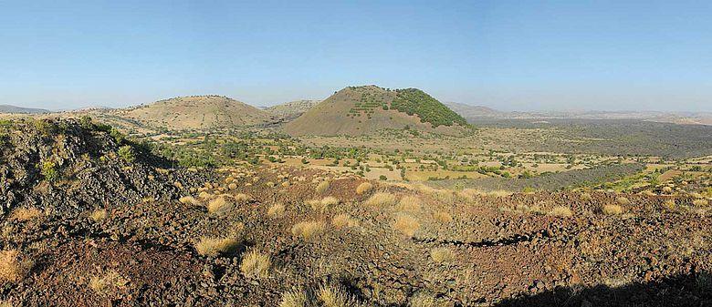 Vulkanfeld von Kula (West-Türkei)