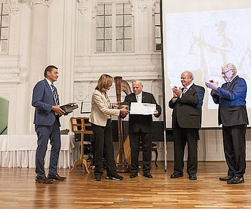 Verleihung des Archäologie-Preises 2018