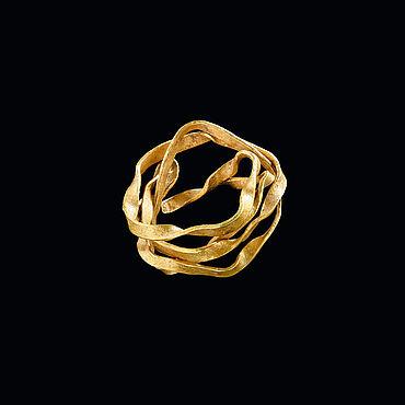 Frühbronzezeitliches Goldspiralröllchen