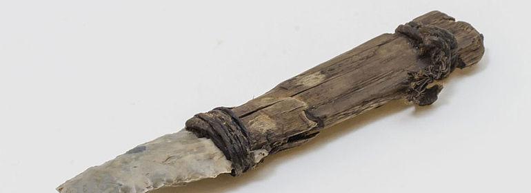 Silex-Messer aus Ötzis Ausrüstung