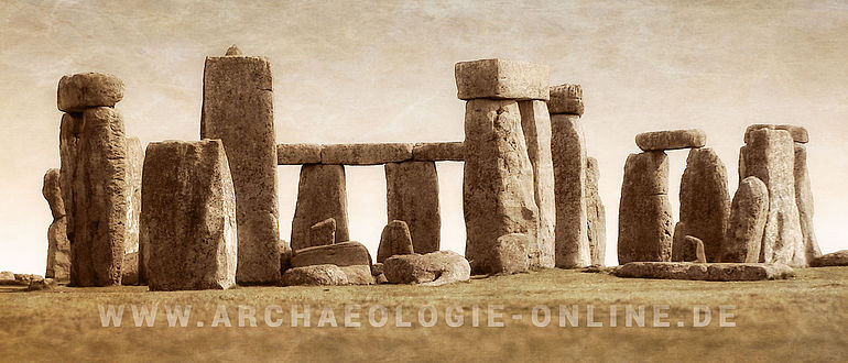 Archäologie Online Stonehenge Poster