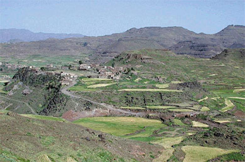 Die Ruinen von Zafar