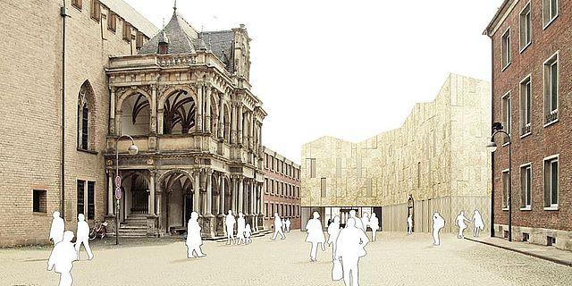 Archäologische Zone: Jüdisches Museum Köln (Bauplanung).