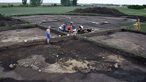 Ausgrabung Bornhöck