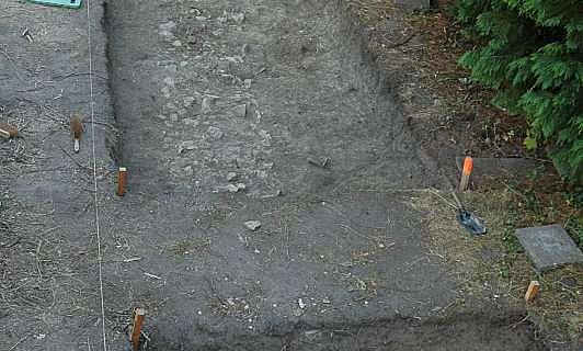Hausfundament in nur 30 cm Tiefe