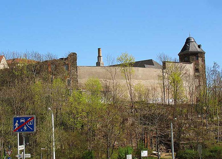 Schlossruinen Plauen