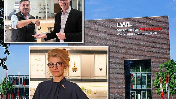 Wechsel in den Archäologie-Museen des LWL