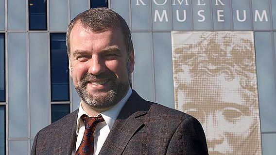 Der neue Leiter des LVR-RömerMuseums Marcus Reuter (Foto Patrick Jung, LVR)