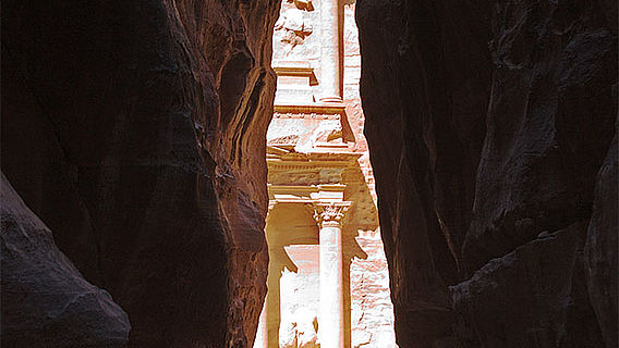 al-Khazneh (»Schatzhaus«), Petra