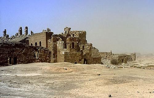 Resafa - Pilger und Händler in der syrischen Wüste