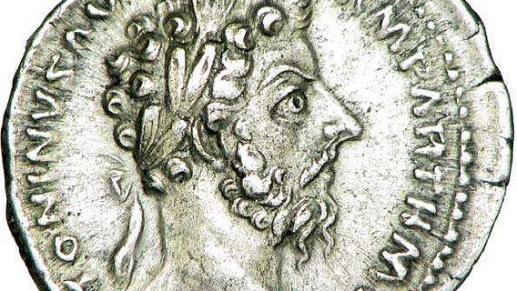 Denar des Marcus Aurelius, Rom, 168 n. Chr. (Foto: Louis le Grand, CC)