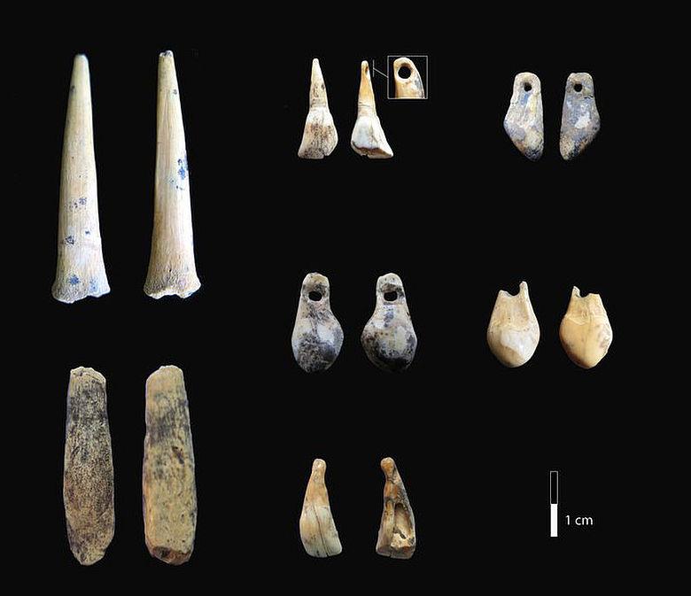 Paläolithische Knochen- und Zahnfunde aus der Denisova-Höhle