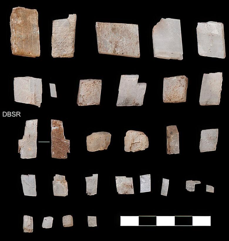Kalzitkristalle aus der Kalahari