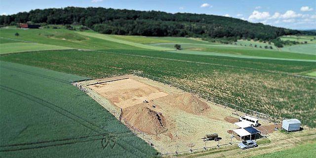 Ausgrabung am Glauberg