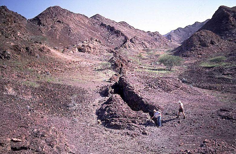 Kupfererzgang