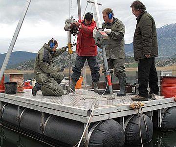 Seebohrung für Paläoumweltforschung und Rekonstruktion der Mensch-Umwelt-Interaktion in Stymphalos, Griechenland