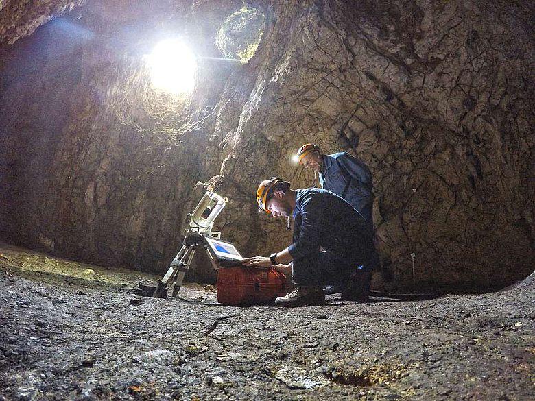 Laserscanning im Sirgenstein