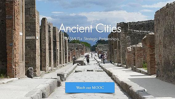 Screenshot www.ancientcities.eu