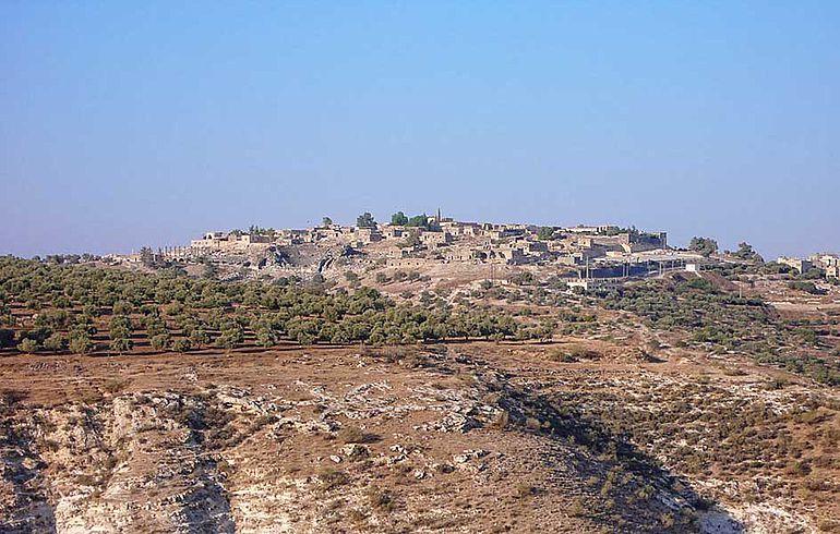 Siedlungshügel von Gadara / Umm Qais