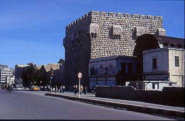 Die Zitadelle von Damaskus. (Foto: S. Heidemann)