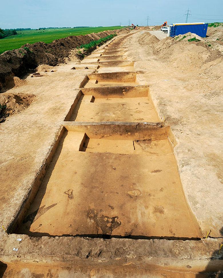 Prähistorischer Weg bei Oechlitz