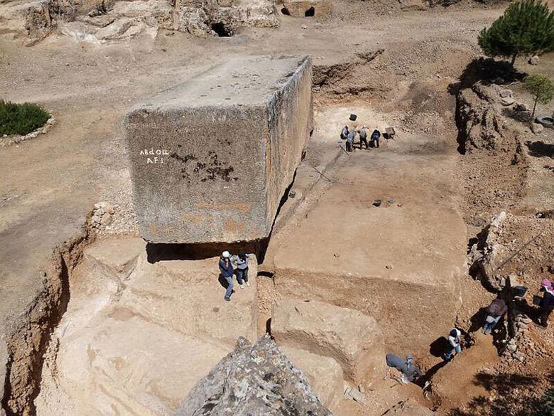 Riesiger Steinblock in Baalbek