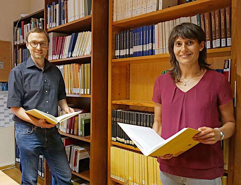Holger Essler und Birgit Breuer