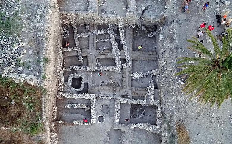 Ausgrabung Megiddo Areal K