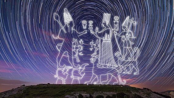 Die symbolische Darstellung des Kosmos im hethitischen Felsheiligtum Yazılıkaya
