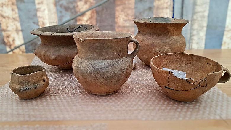 Bronzezeitliche Grabbeigaben