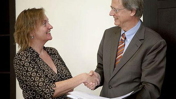Unterzeichnung des Fakultätskooperationsvertrags