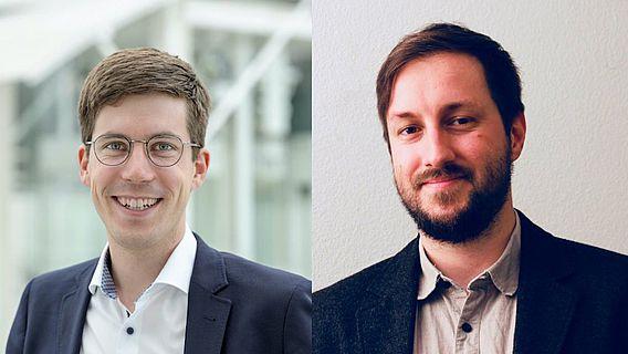 Dr. Fabian Brenker und Dr. Roland Filzwieser