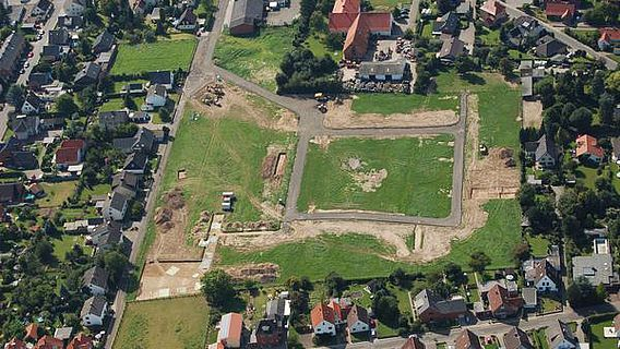 Übersicht über die Grabungsfläche im Sommer 2008 (Foto: Schaumburger Zeitung/Thomas Meinecke)